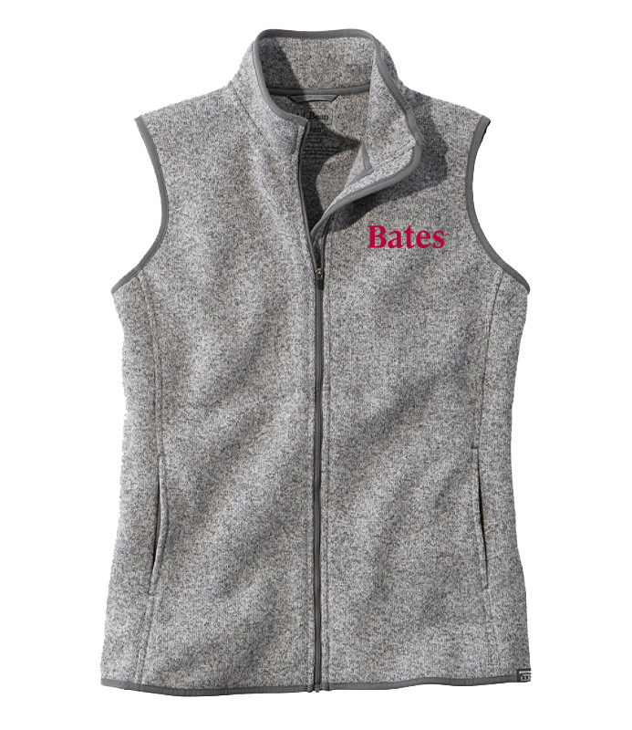 LL Bean Women's Sweater Fleece Heathered Vest (Medium only)
