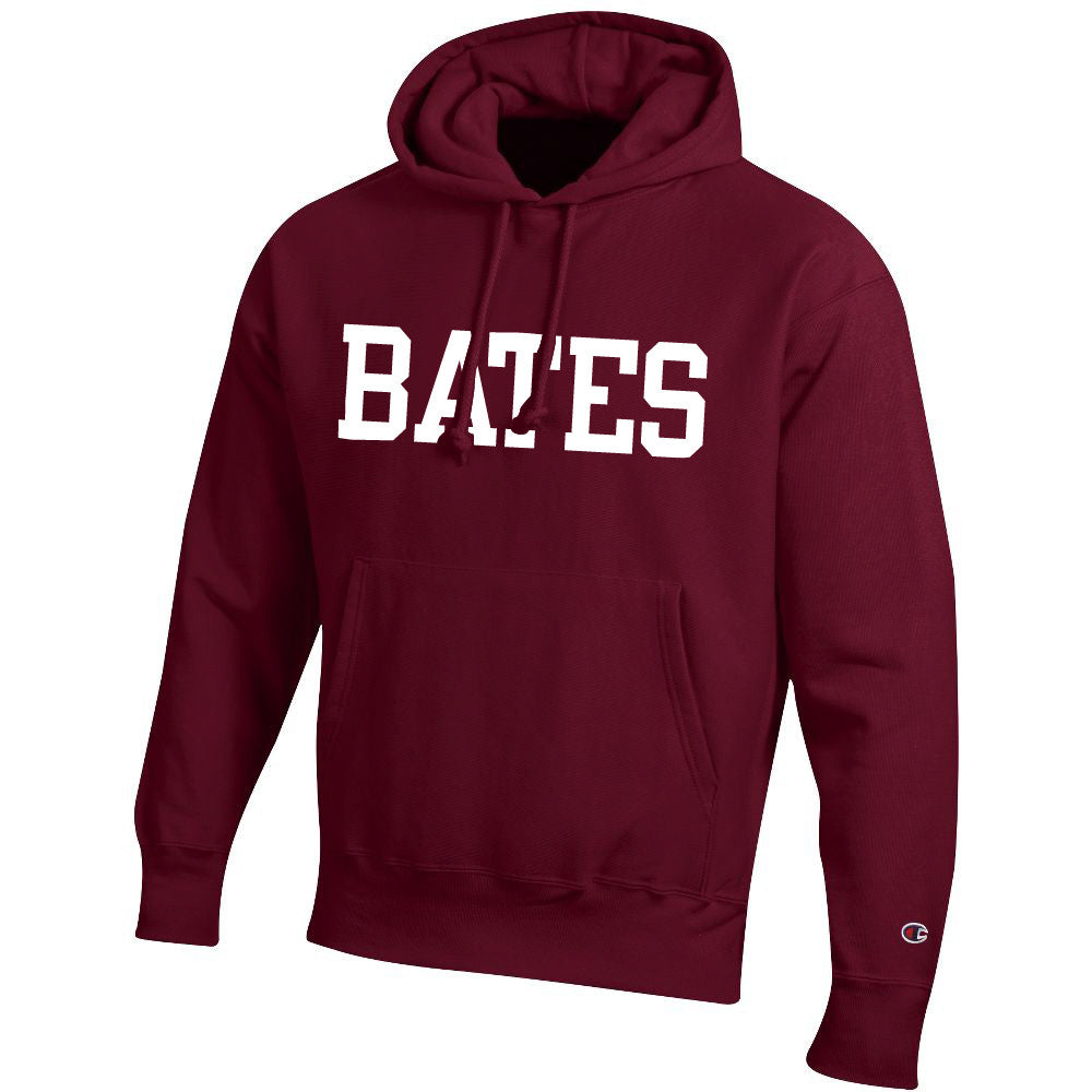 Champion Hooded Sweatshirt with BATES imprint (2 Color Options) - Hoodie