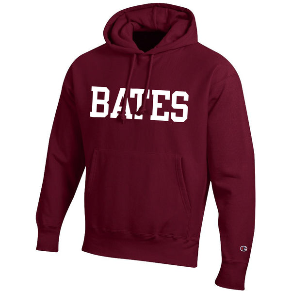 Champion Hooded Sweatshirt with BATES imprint (2 Color Options)