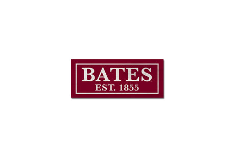 BATES EST. 1855 Wood Sign