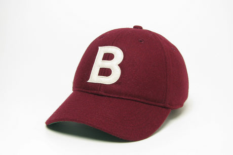 "Wool ""B"" Cap (Two Color Options)"