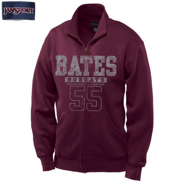 Jansport Full-zip Bates '55 Sweatshirt - Clearance, Full Zip, Limited Sizes