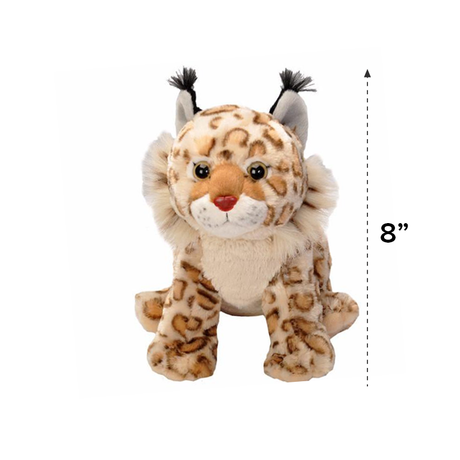 Wild Republic Mini Cuddlekins Plush Bobkitten