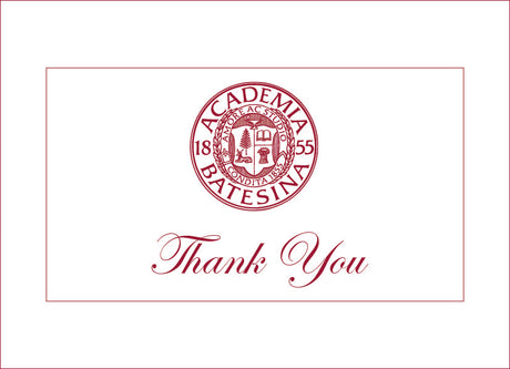 "Set of 8 Bates Seal ""Thank You"" Greeting Cards"