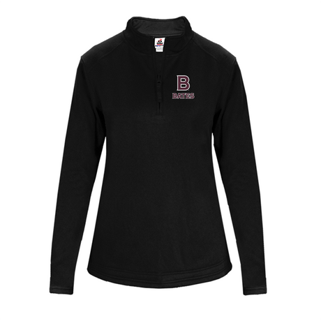 1/4 Zip, Poly Fleece Ladies Pullover