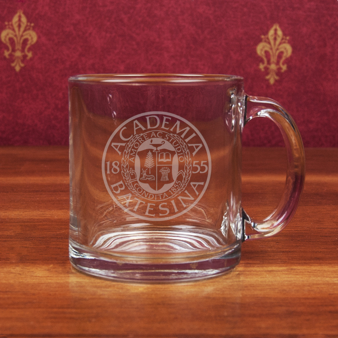 14oz Clear Glass Mug - Commencement, Gifts, Glassware
