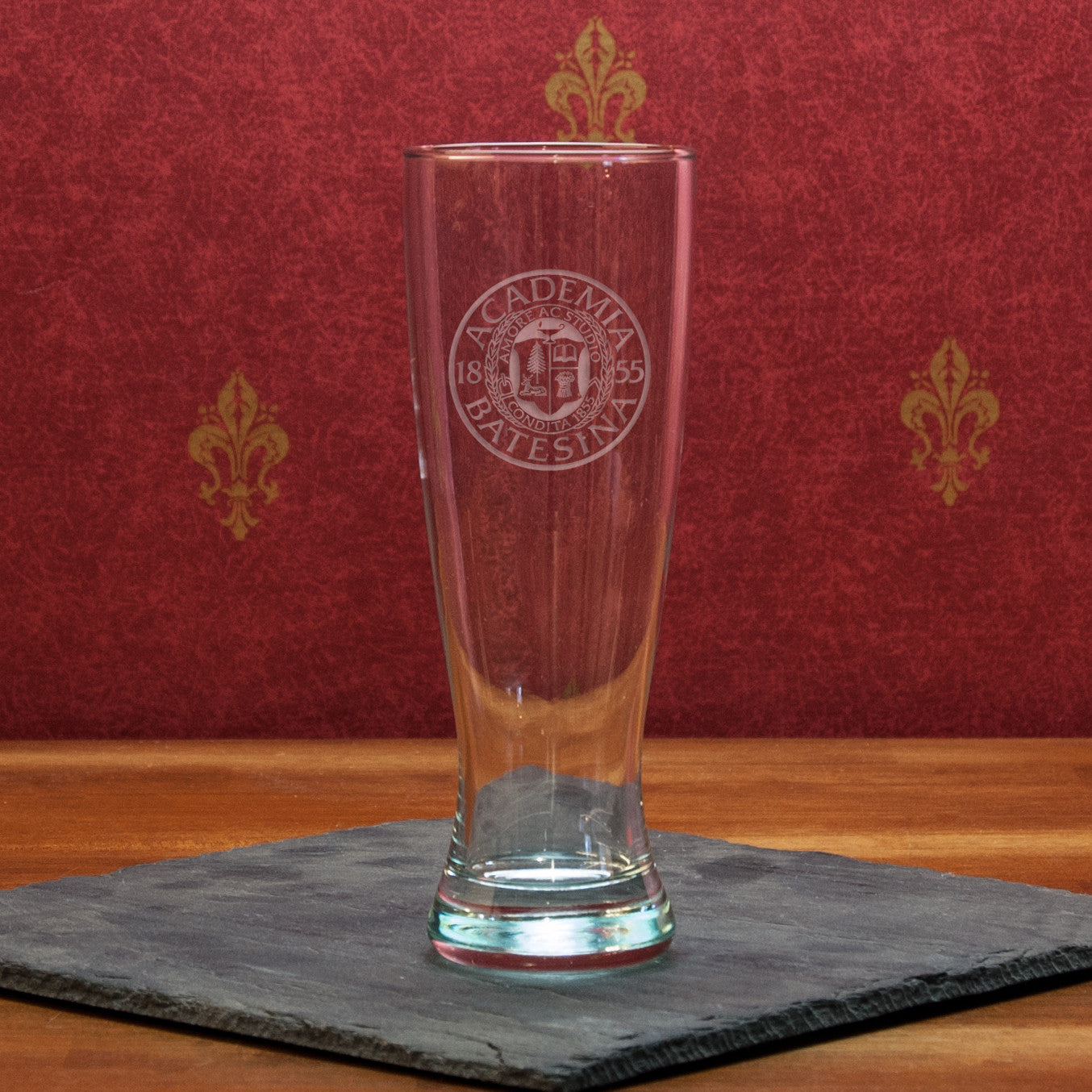 23oz University Pilsner Glass - Commencement, Gifts, Glassware