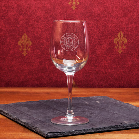 12oz Classic Wine Glass - Commencement, Gifts, Glassware, Home