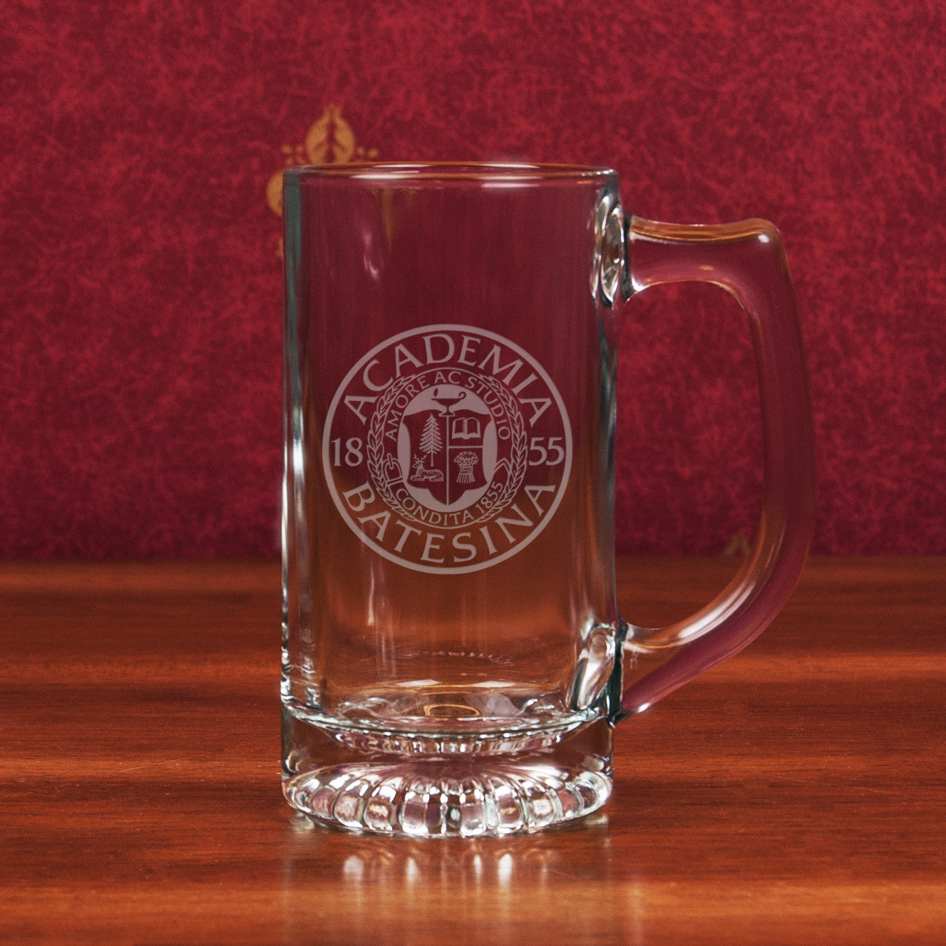 Star Bottom Glass Mug - Commencement, Gifts, Glassware