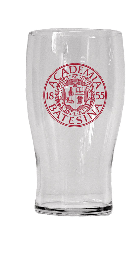 Bates 20oz Pub Glass with Seal