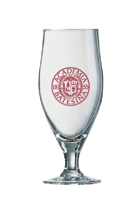 Bates 16oz Cervoise Glass with Seal