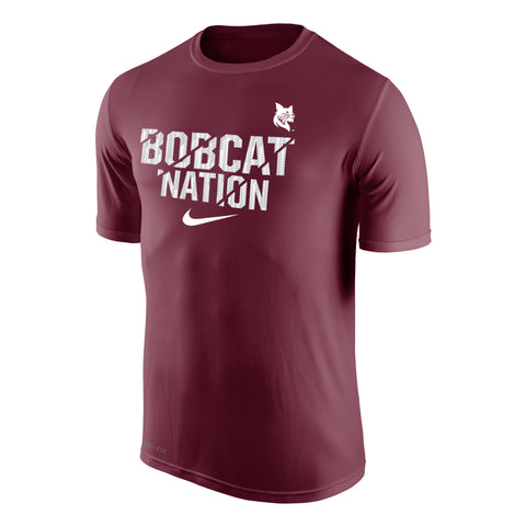Nike Bobcat Nation T-Shirt - Bobcat Spirit, Men's, T-Shirts