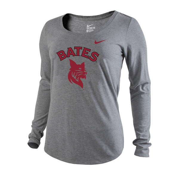 Women's Long Sleeve Nike Scoop T (2 Color Options)