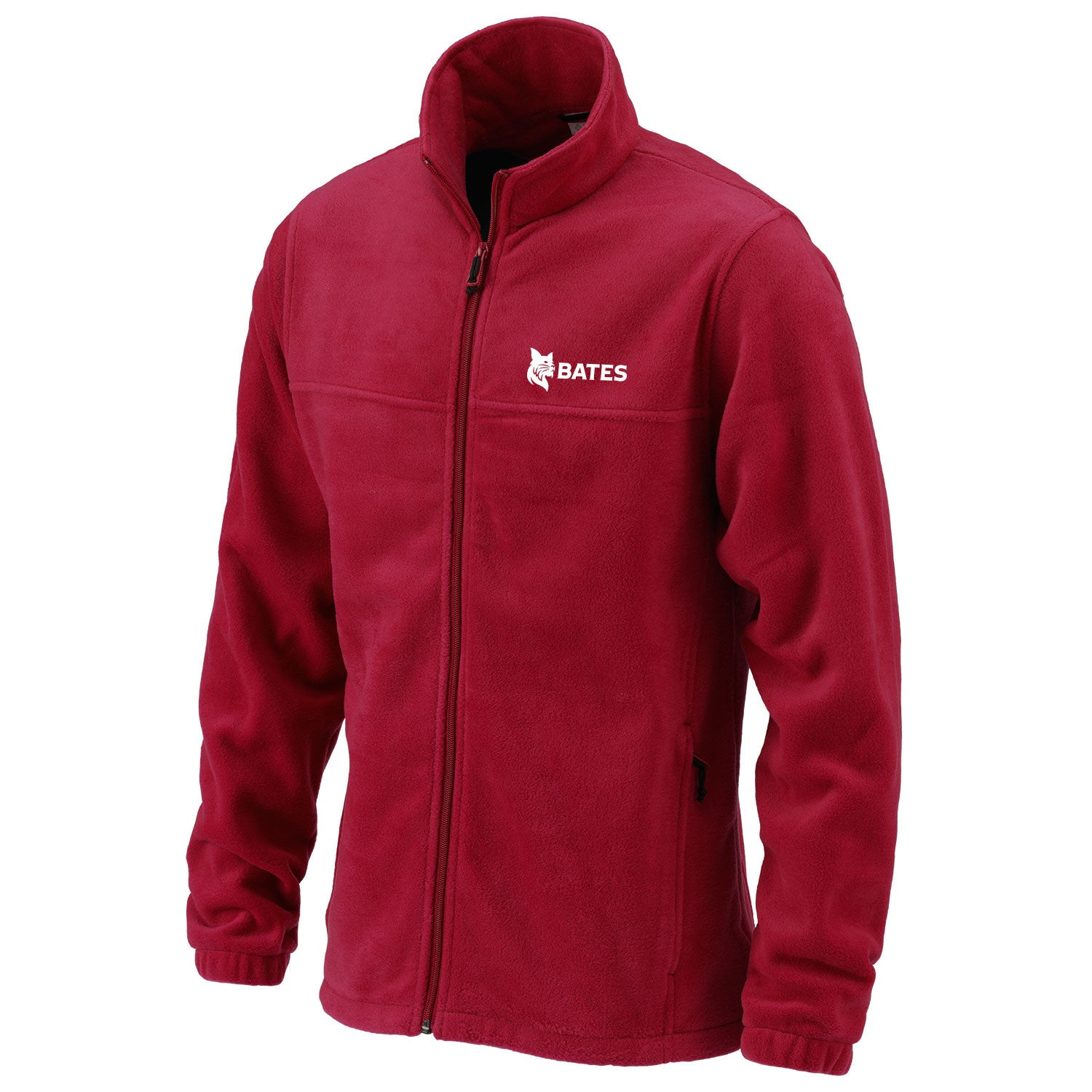 Mens Garnet Columbia Full Zip Fleece - Outerwear