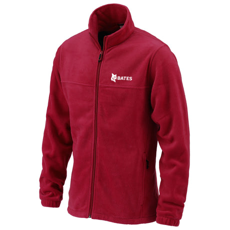 Mens Garnet Columbia Full Zip Fleece