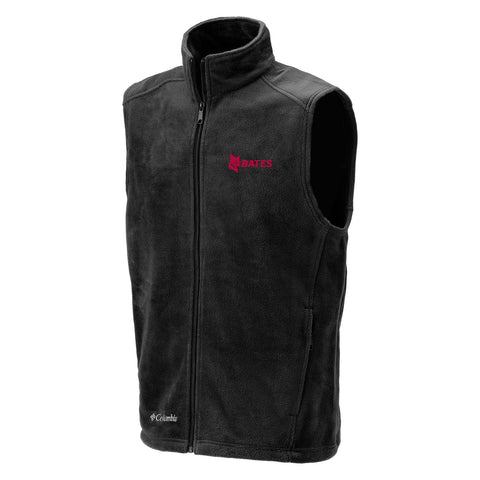 Black Columbia Fleece Vest - Outerwear