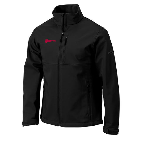Men's Columbia Black Softshell Jacket - Outerwear