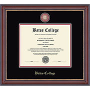 Masterpiece Edition Diploma Frame in Kensington (Black/Crimson)