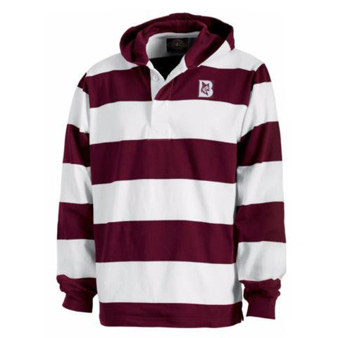 Rugby Hooded Pullover - Clearance, Hoodie, Limited Quanities, Limited Sizes