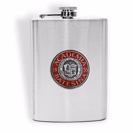Stainless Steel Canteen with Bates Seal Medallion
