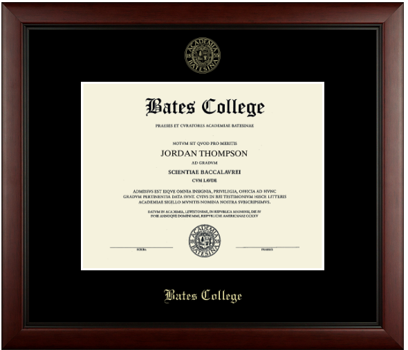 Gold Embossed Achievement Edition Diploma Frame (Academy with Black Mat) - IN STOCK!