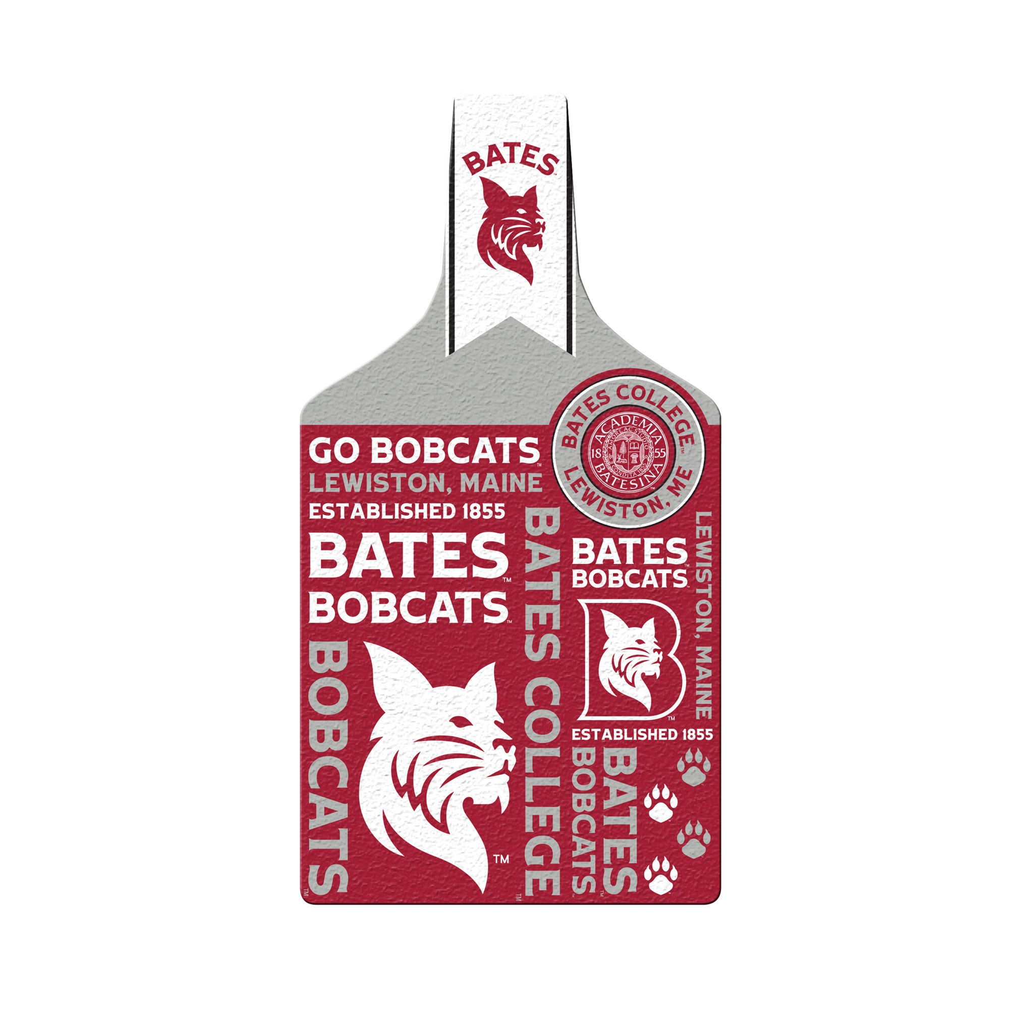Glass Cheese Board - Bobcat Spirit, Gifts