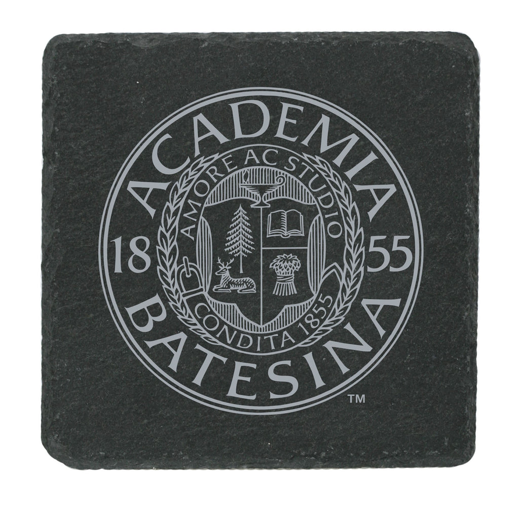 Slate Academic Seal Coster