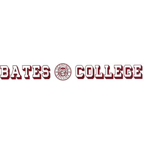 Bates College and Seal Inside-window Decal