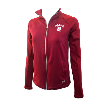 Women's Under Armour Jacket in Garnet (Size Small Only)