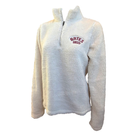 Women's Sherpa 1/4 Zip in Ivory (Large Only)