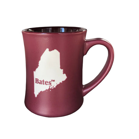 Etched State of Maine Mug