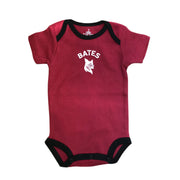 Two-Toned Solid Garnet Bodysuit