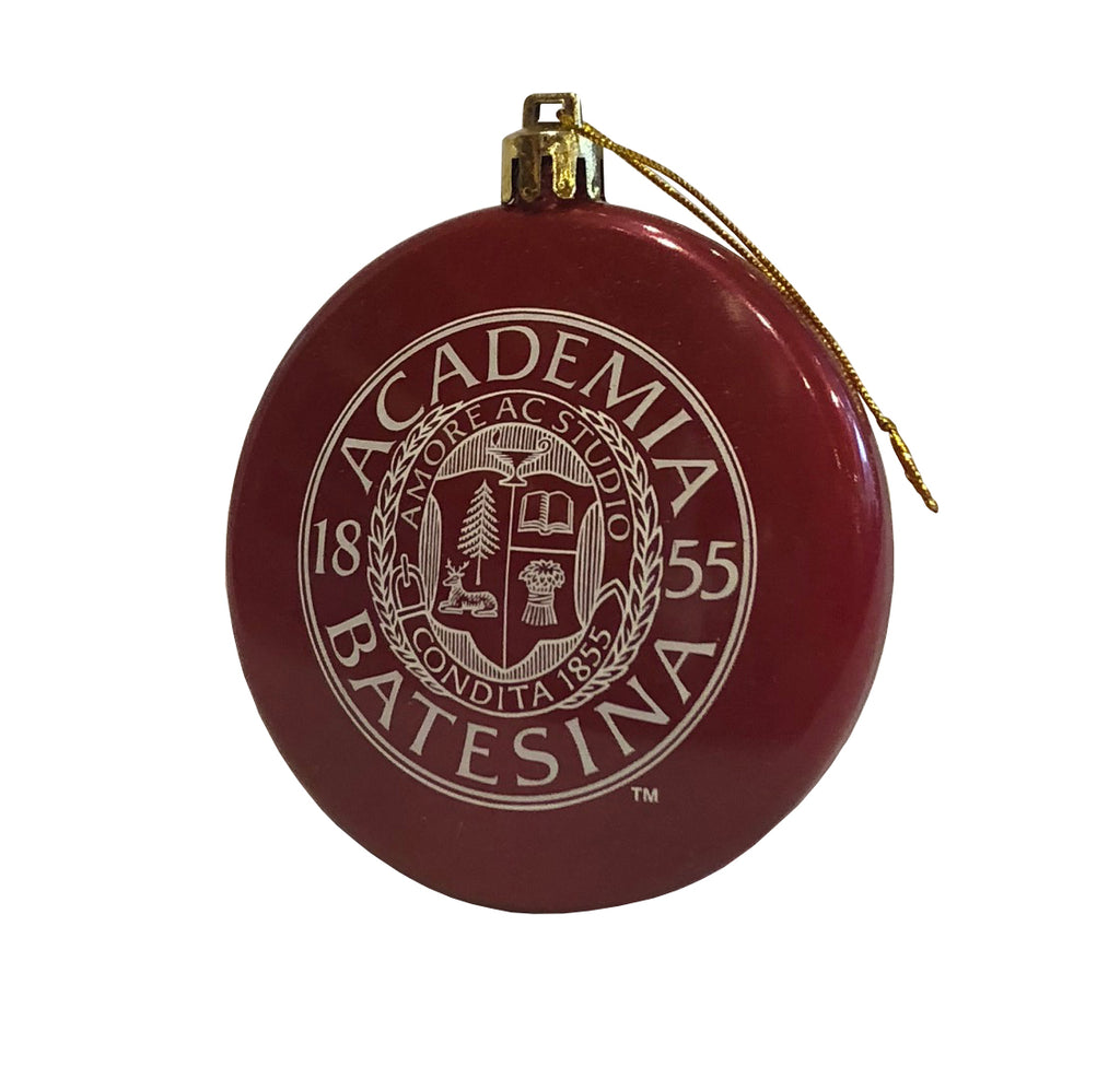 Bates Seal Glossy Ornament