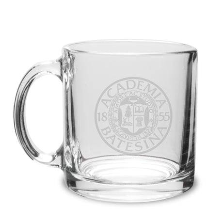 14oz Clear Glass Mug