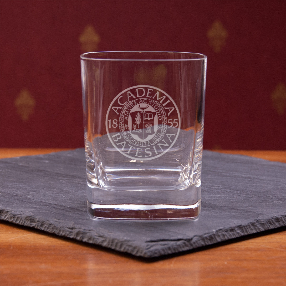 Square Glass 11.75oz - Glassware