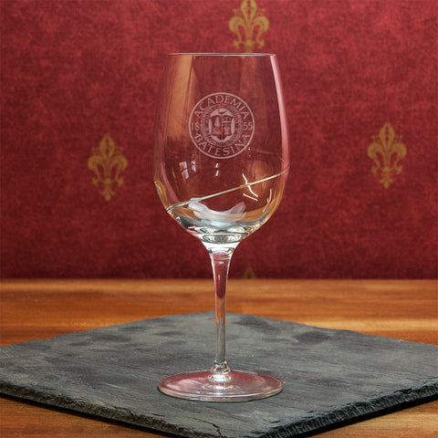 16.25oz Swirl Glass Goblet - Glassware