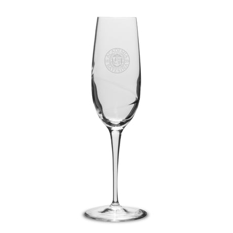 Champagne Flute with Swirl