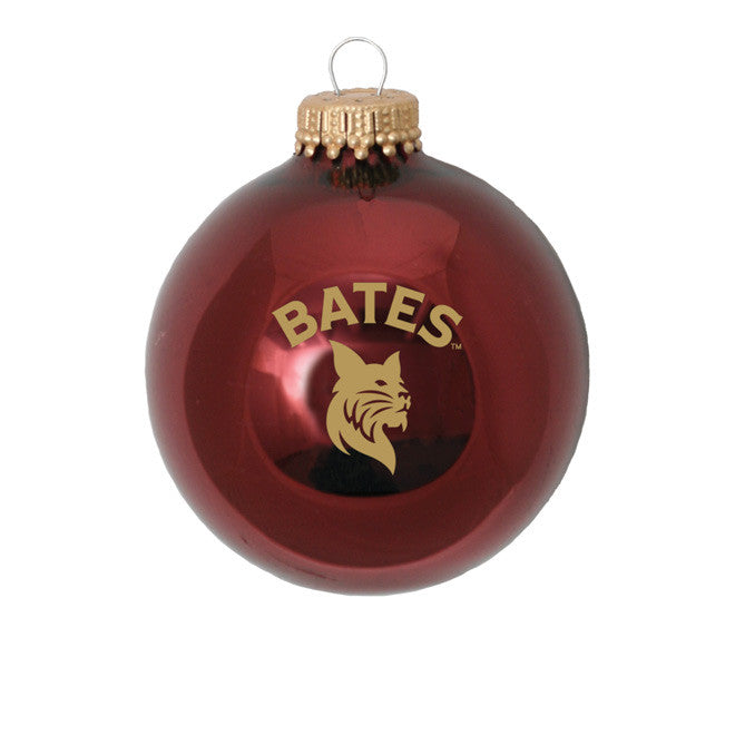 Glass Ball Ornament - Bobcat Spirit