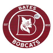 Bates Bobcats Indoor/Outdoor Circle