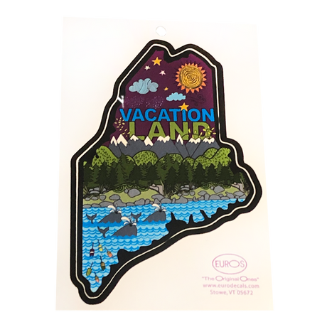Vacation Land Decal