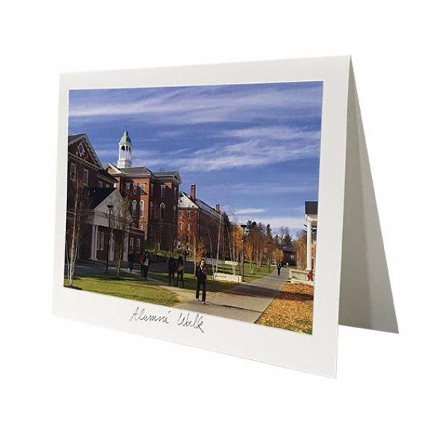 Alumni Walk Photo Greeting Card