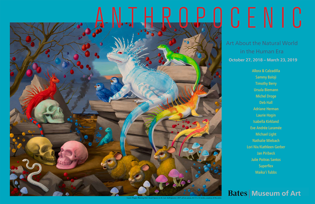 Anthropocenic Poster: Watering Hole - Laurie Hogan