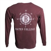 Long Sleeve Pocket Tee with Compass
