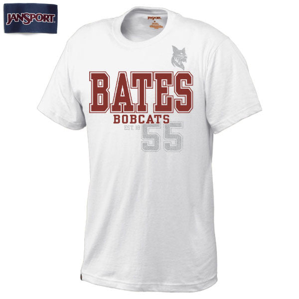Jansport Bates Bobcats Heavyweight Tee - Clearance, jansport, Limited Sizes, Men's, T-Shirts
