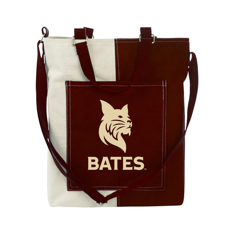 Canvas Two Tone Tote Bag - bags
