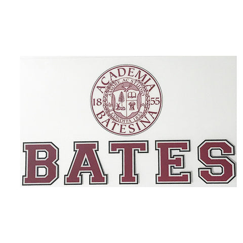 Bates and Seal Inside-window Decal - Decals