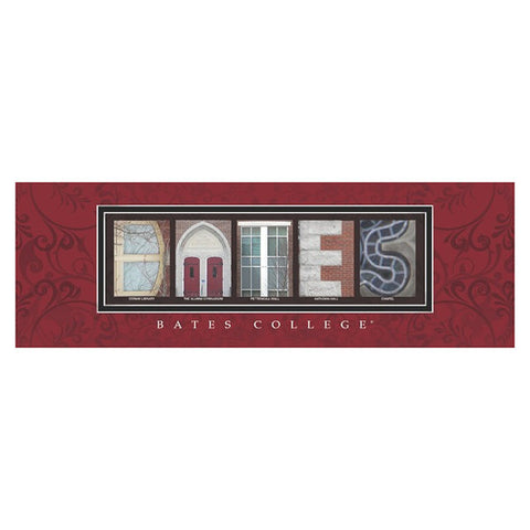Framed Bates Letter Art - Decor, Frames