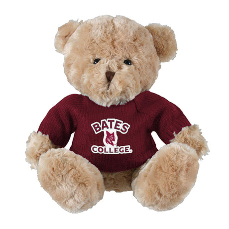 Elliott the Bear with BATES COLLEGE Sweater(2 Color options)