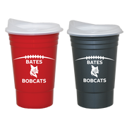 Football Time Out Cup With Lid (Two Color Options)