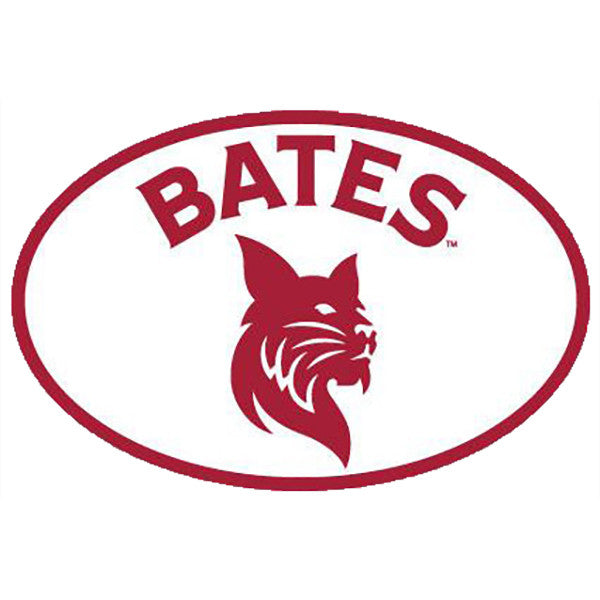 Magnetic Car Decal with Bates Bobcat
